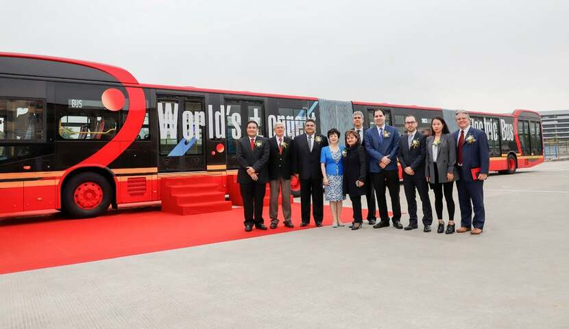 BYD Auto World's Longest Bus