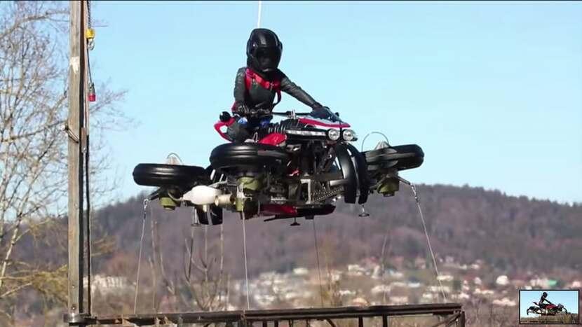 Lazareth Flying Motorcycle