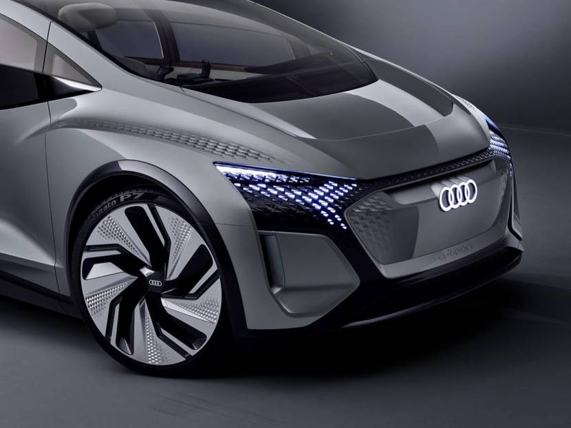 AI-equipped autonomous electric Audi AIME