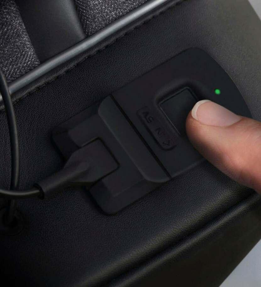 Agazzi Backpack Fingerprint Scanner