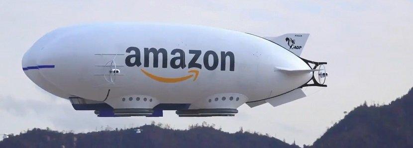 Amazon Giant Delivery Drone Blimp