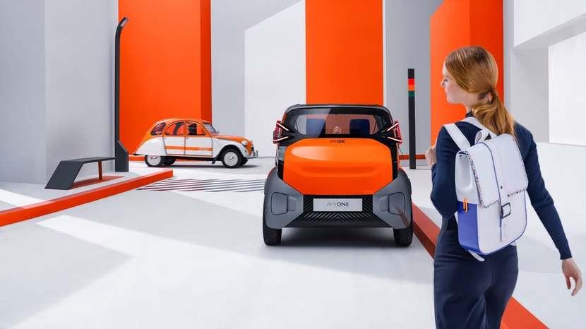 Citroen Ami One All Electric EV Concept