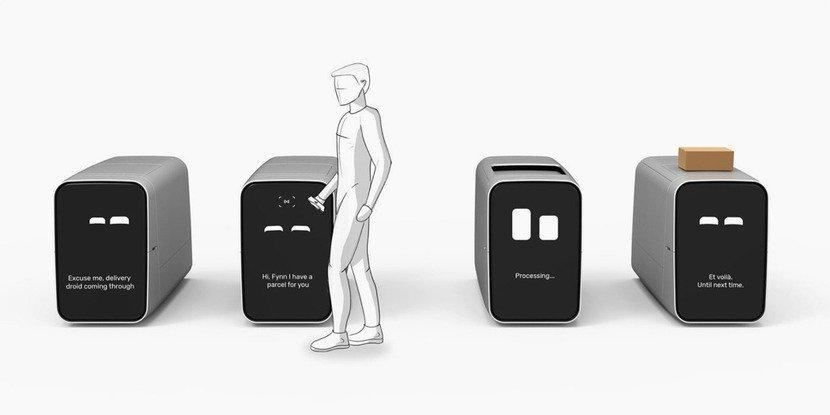 Fynn.design Autonomous Courier Delivery System