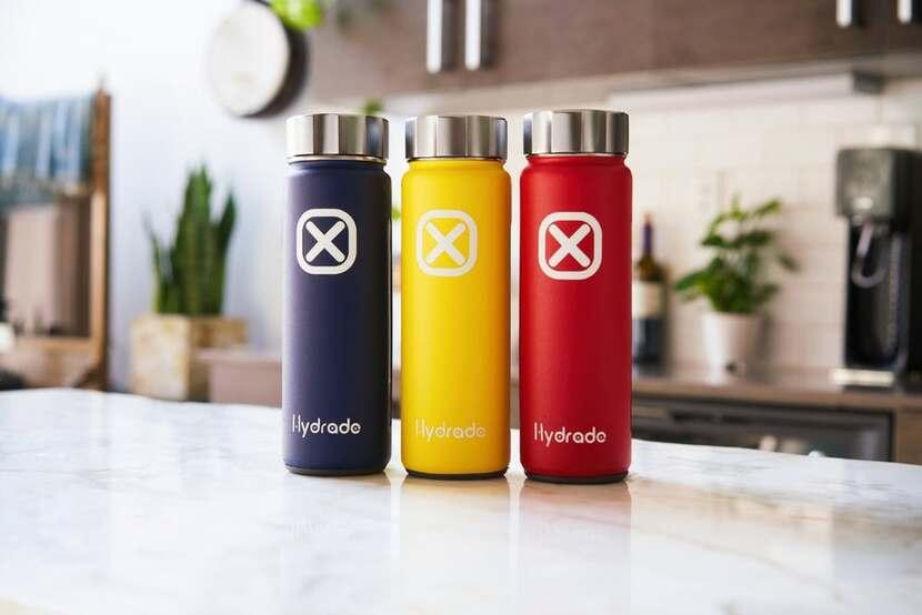 Hydrade Smart Solar Powered Water Bottle