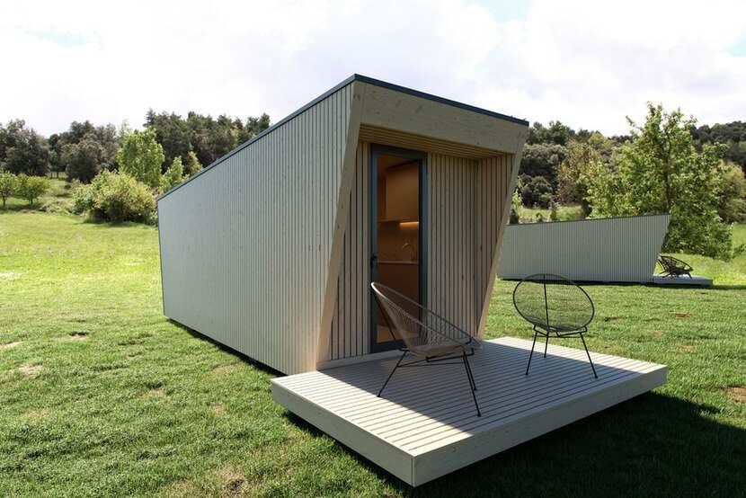 In Tenta Drop Box moveable micro cabin