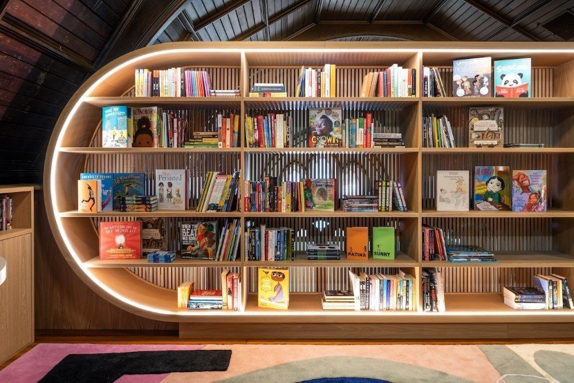 Library by MCKA