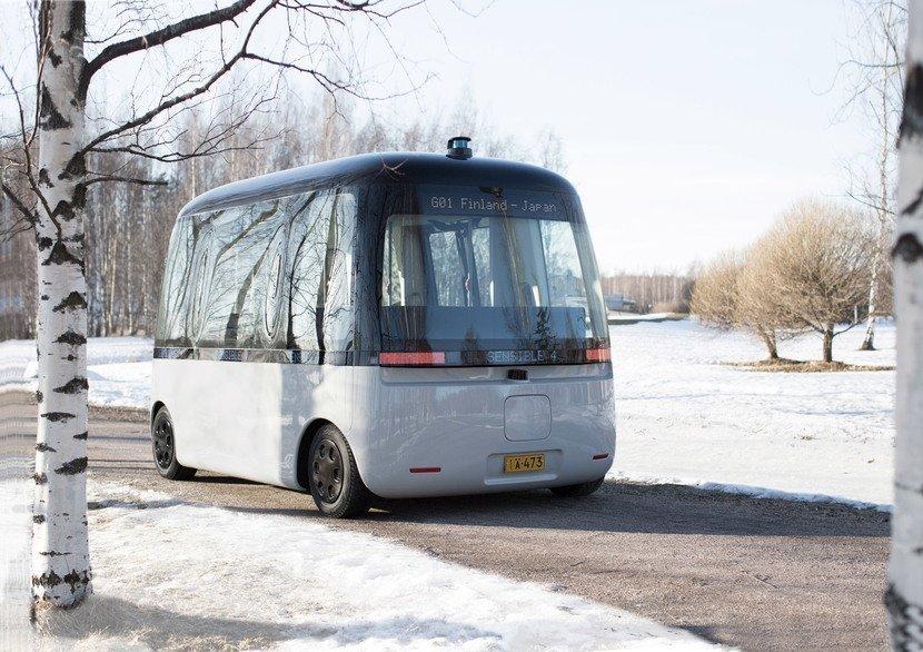 Muji Gacha Self Driving Bus