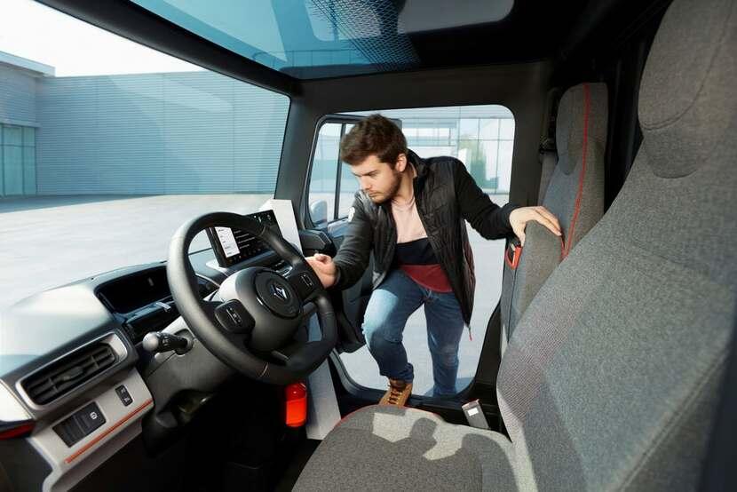 Renault Electric Delivery Van EZ-Flex