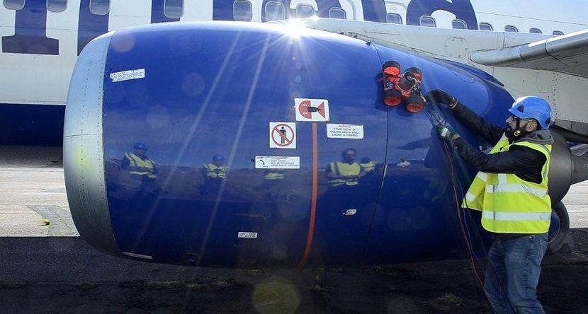 Vortex Aircraft Inspection Robot