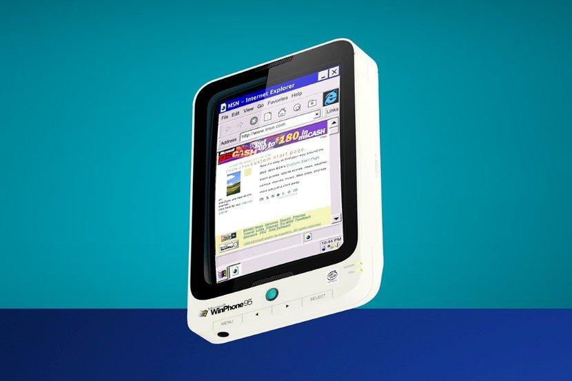 Winphone 95 designed by Henrique Perticarati Microsoft Hand Held PC