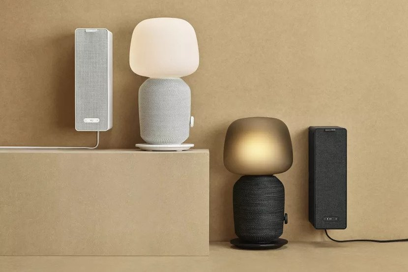 IKEA Sonos Bookshelf and Lamp Speaker