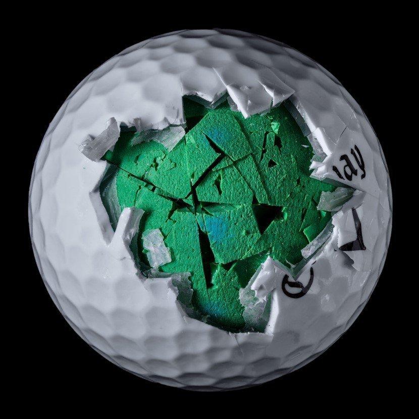 Golf ball by James Friedman