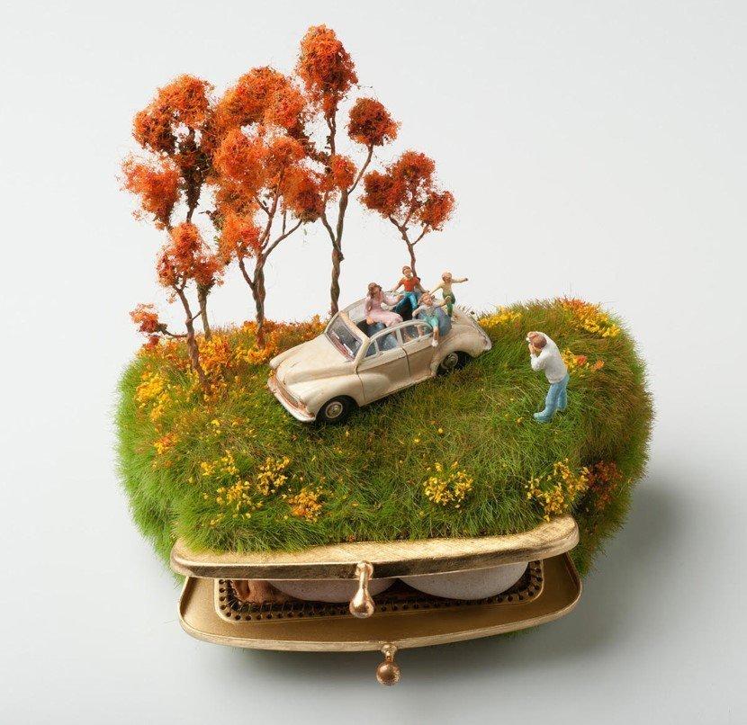 Miniature art by Kendal Murray