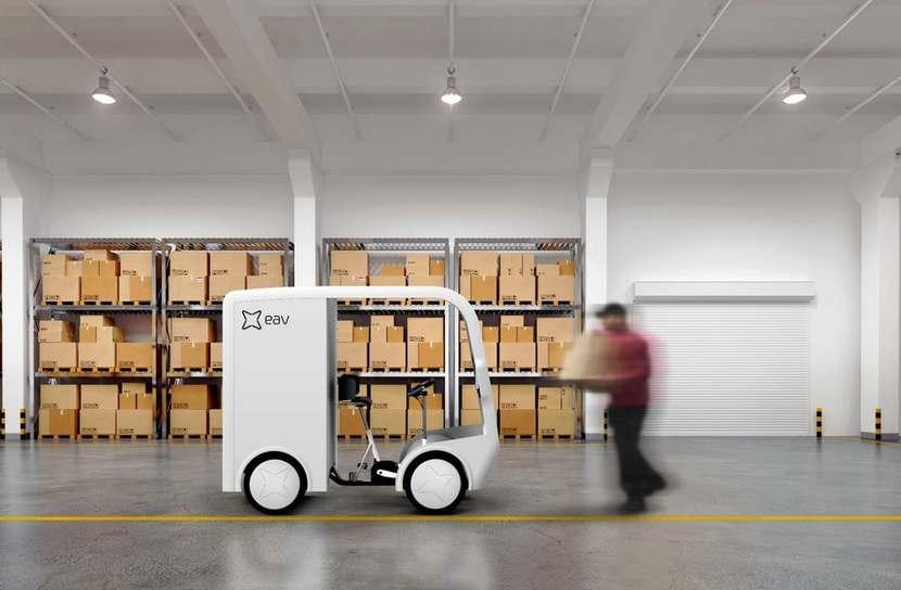 EAV Project 1 P1 Pedal Electric Cargo Quadricycle