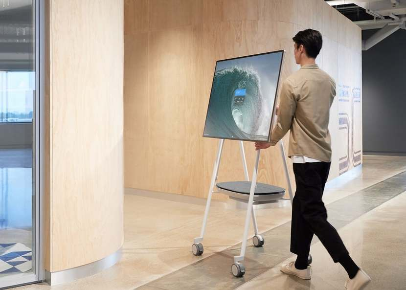 Microsoft's Surface Hub 2S Digital Whiteboard