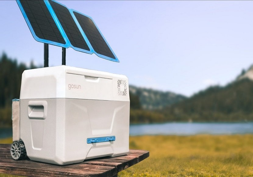 GoSun Chill Portable Solar-Powered Fridge Cooler