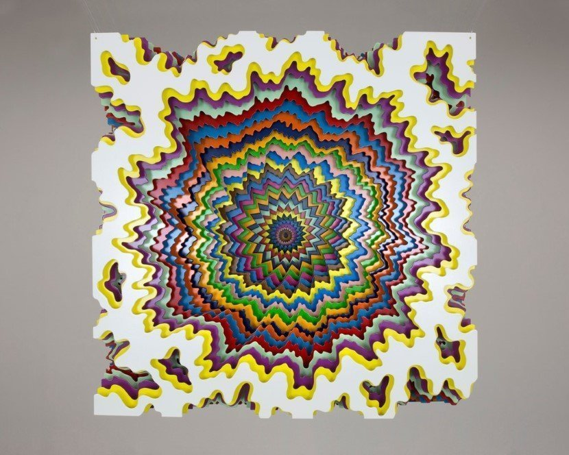 Jen Stark Intricate Art