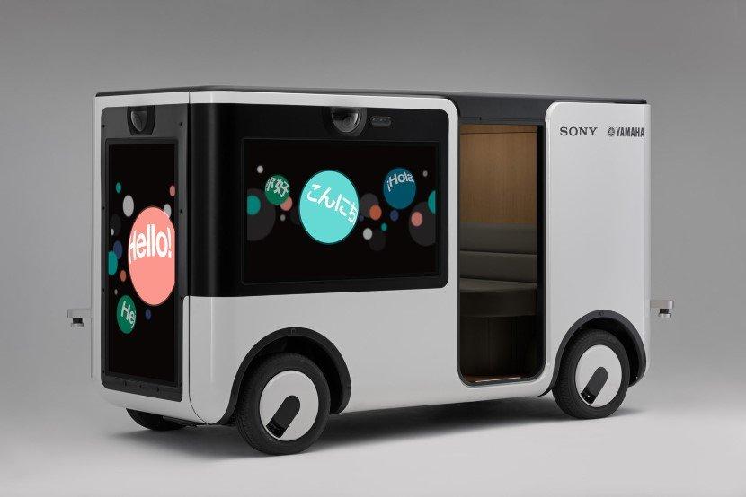 Sony and Yamaha Driverless Cart