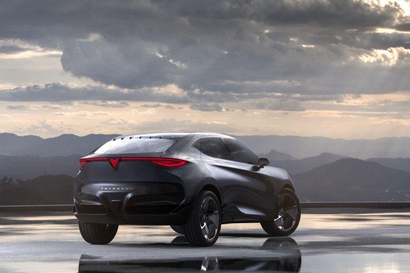 Volkswagen Seat electric powered SUV Cupra Tavasca concept