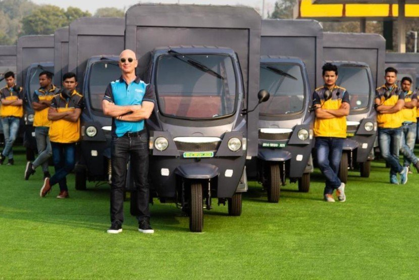 Amazon Electric Rickshaws