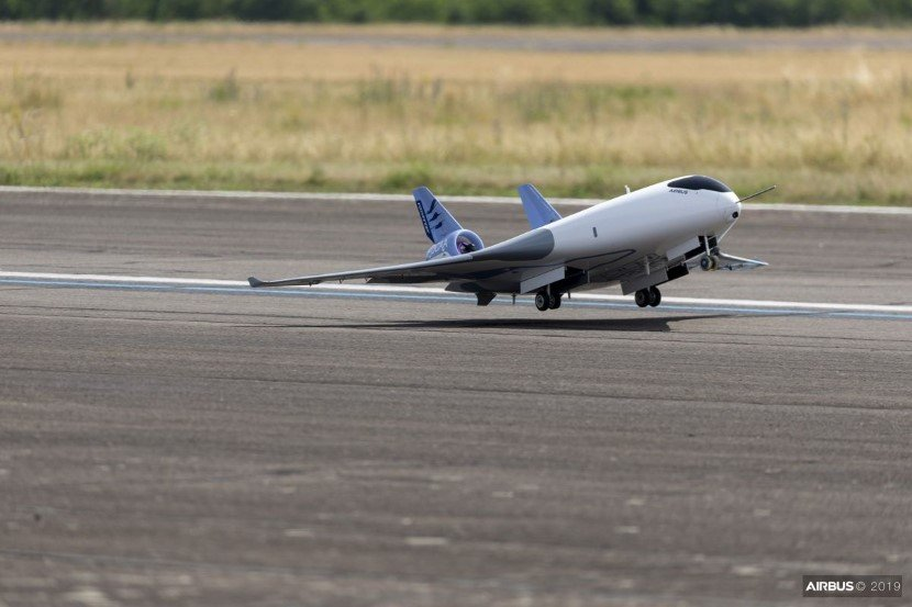 MAVERIC is a test demonstrator for the latest airplane design