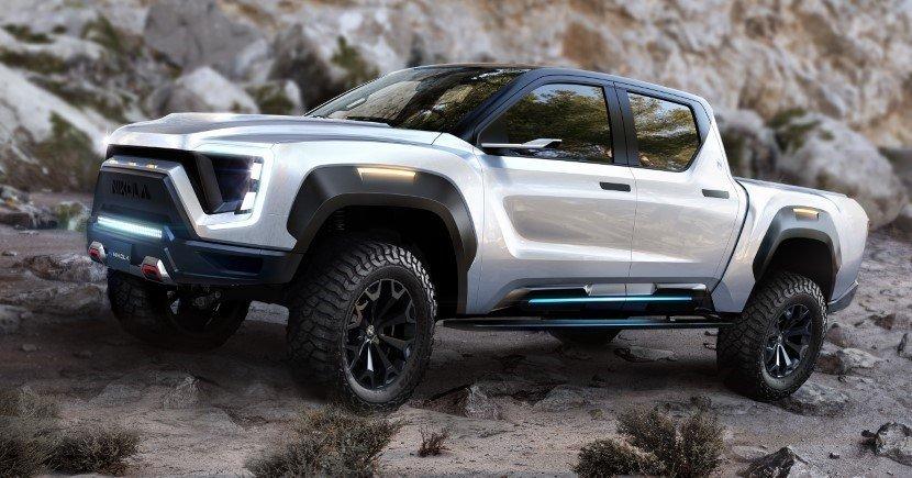 Nikola Badger a Hybrid truck