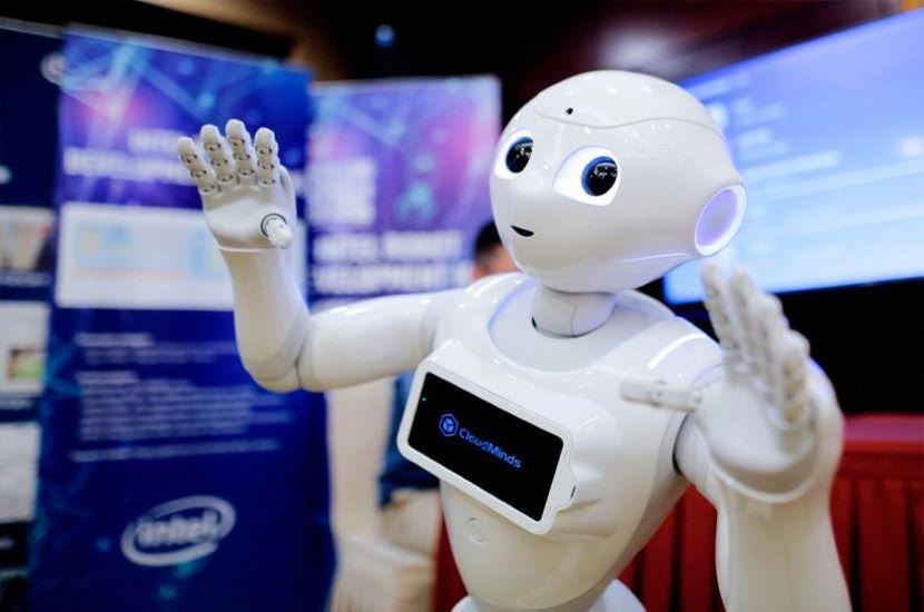 Chinese Hospital robots