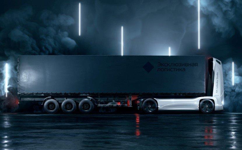 Self-driving Semi truck