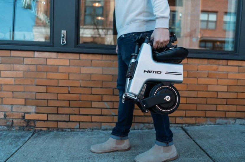 HiMo foldable bike