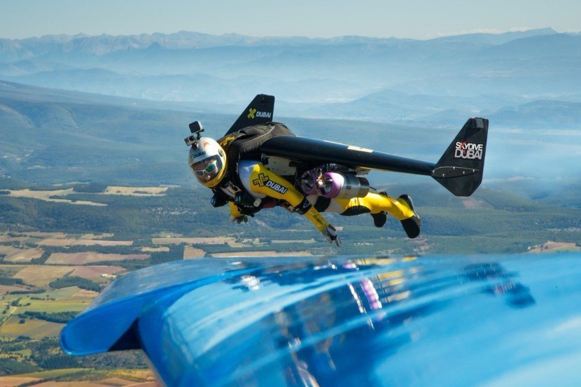 Jetman flights