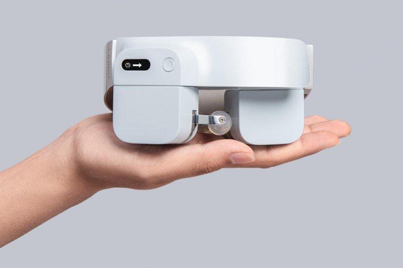 LEROU robotic head massager