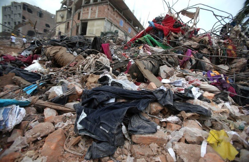 Fast fashion deteriorating the earth