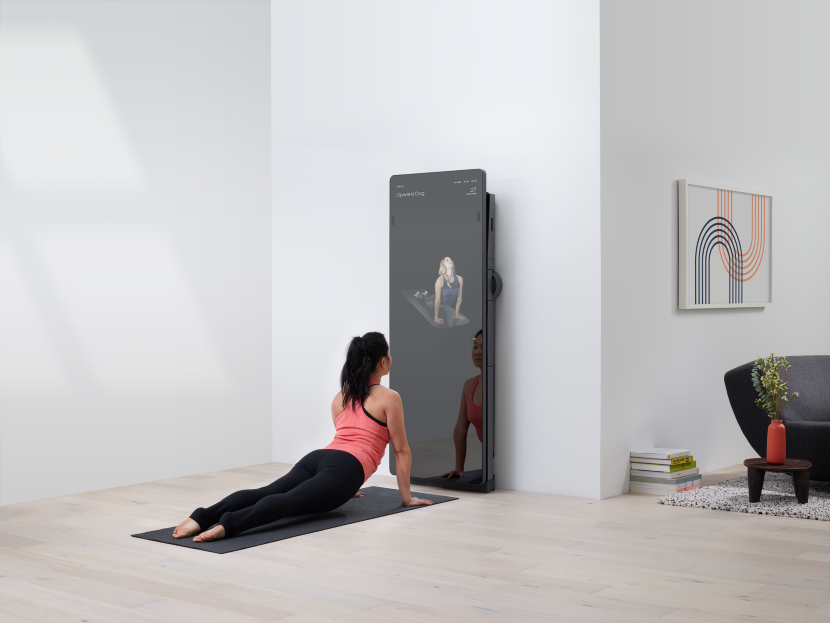Smart mirror for at home workout