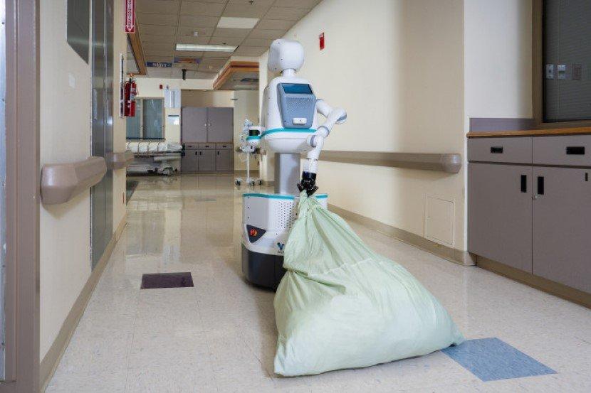 Humanoid Robot Nurse Helper Moxi