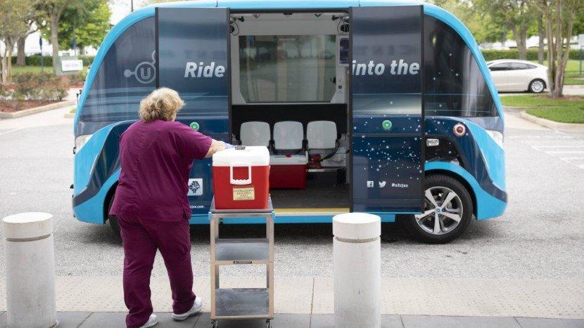 Mayo Clinic Automated Shuttles