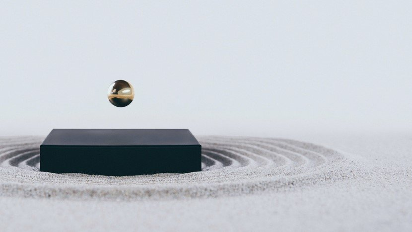 Levitating Buda Ball