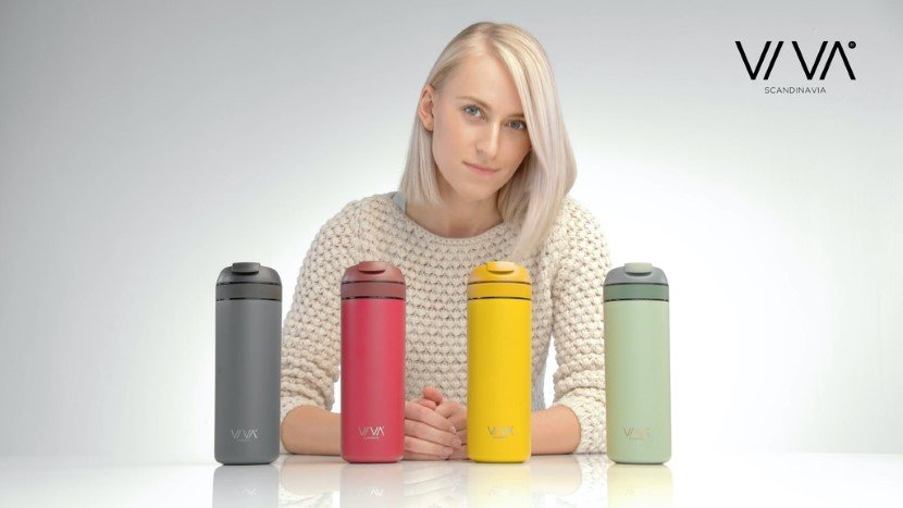 VIVA's all in one travel mug
