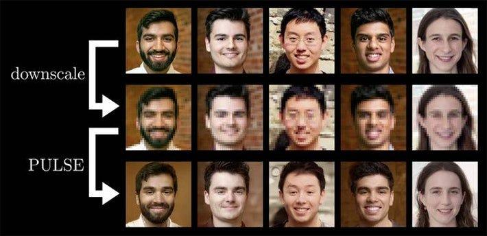 AI Tool PULSE generates sharper images
