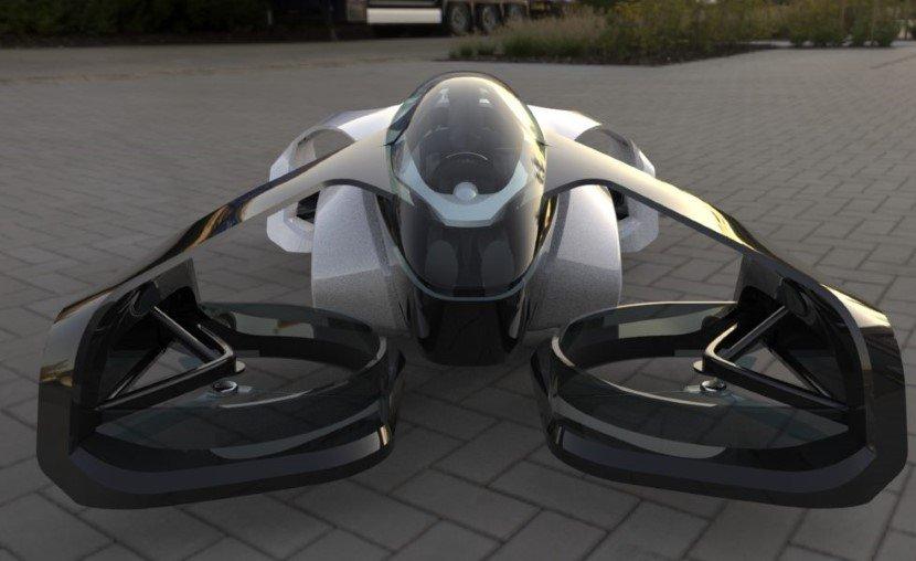 Japan Flying Car - SD-XX Concept