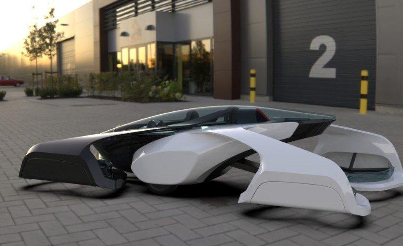 Japanese Flying Car - SD-XX Concept