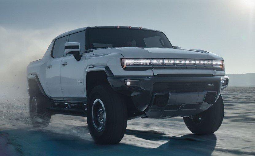 The Hummer EV 2022