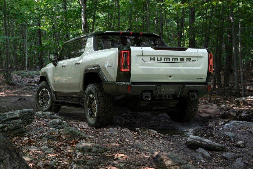 Hummer EV on rocky roads