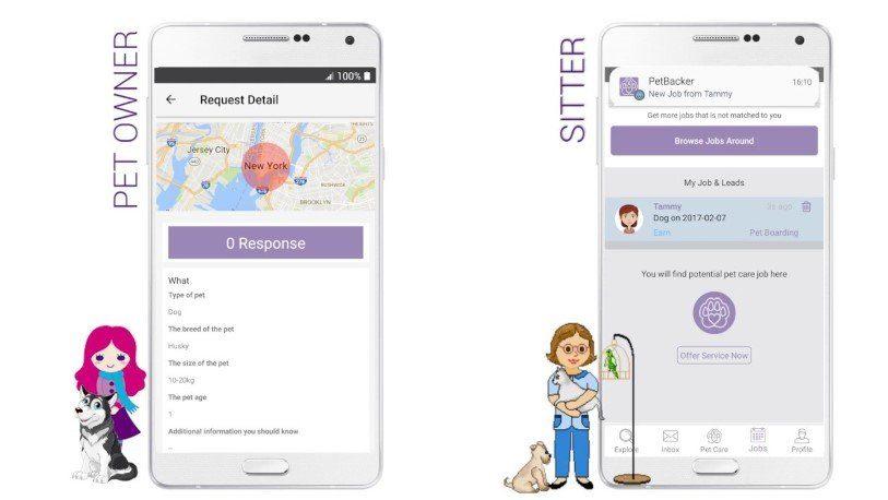 The best international dog walking app