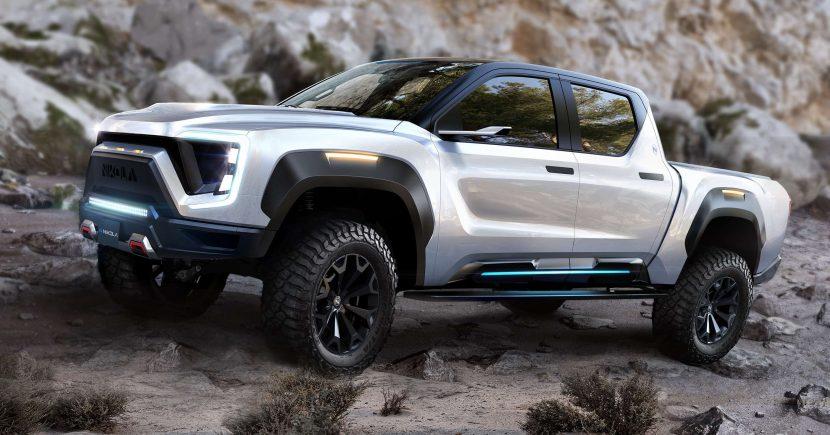 electric pickup trucks