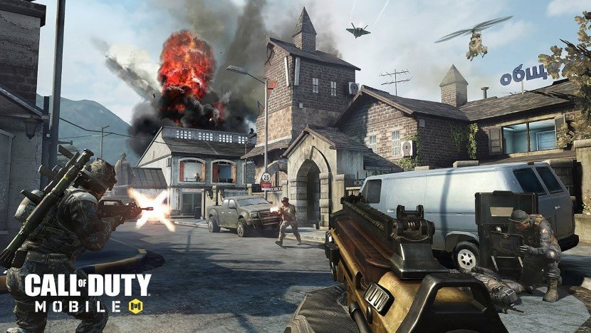 Best Android Games - COD Mobile