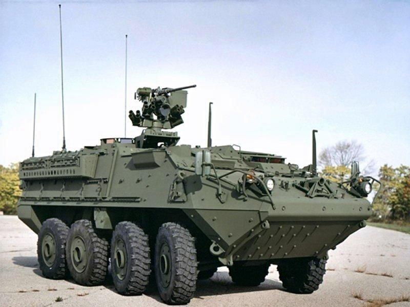 Stryker A1 IM SHORAD