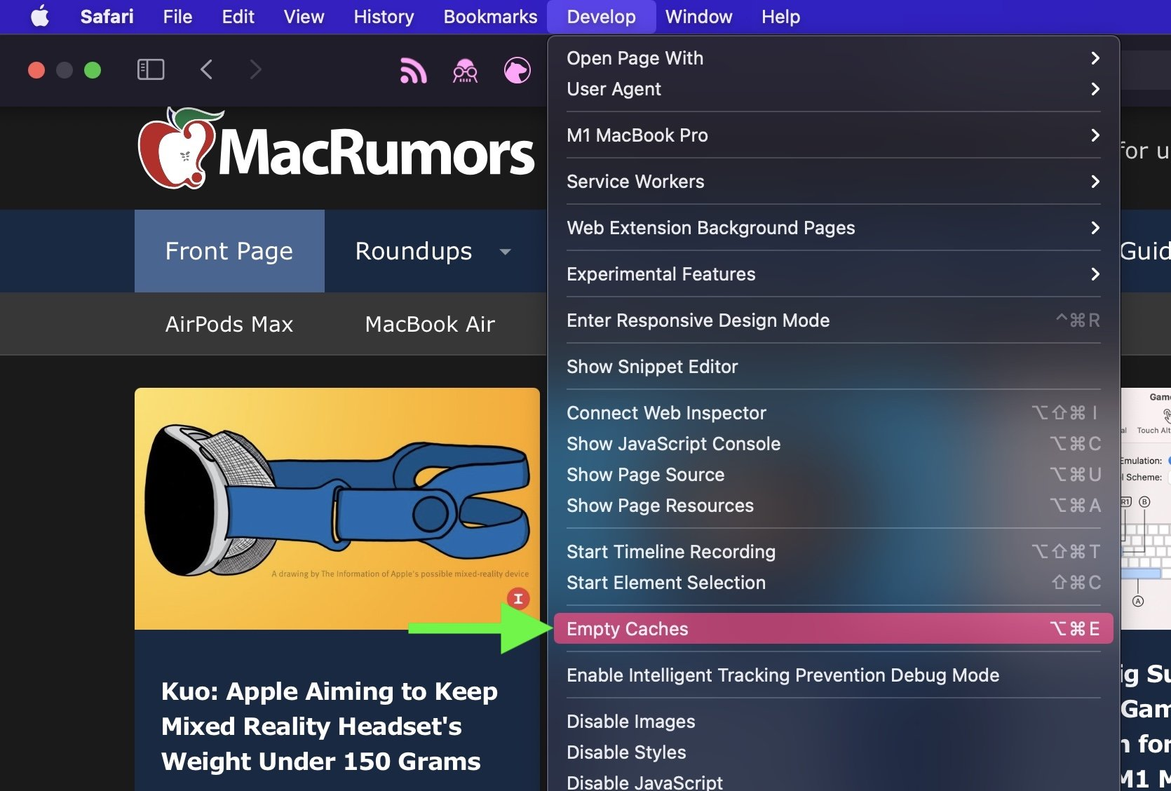 How to Clear YouTube Cache On Safari macOS