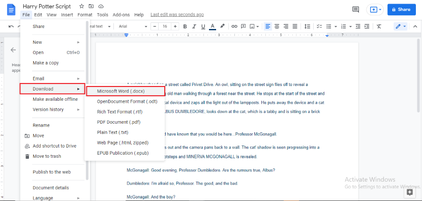 How to track changes in Google Docs Document
